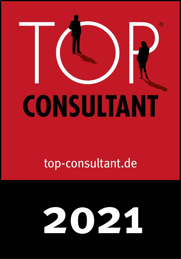 Krause&Schopp wurde in 2021 erneut wieder als Top Consultant ausgezeichnet.